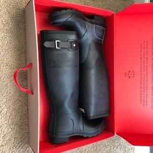 Hunter Boots. Size 7